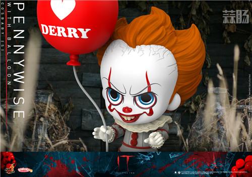 Hot Toys推出《小丑回魂2》COSBABY迷你珍藏人偶 模玩 第4张