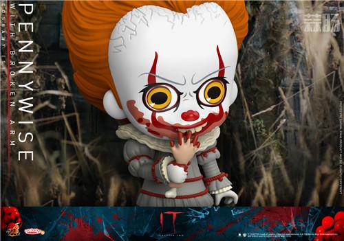 Hot Toys推出《小丑回魂2》COSBABY迷你珍藏人偶 模玩 第6张