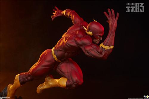 Sideshow 公布DC漫画版闪电侠雕像 闪电侠 DC Sideshow 模玩  第9张