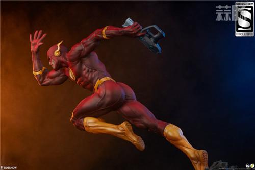 Sideshow 公布DC漫画版闪电侠雕像 闪电侠 DC Sideshow 模玩  第8张