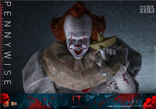 Hot Toys推出《小丑回魂2》潘尼怀斯1:6比例珍藏人偶 模玩 第6张