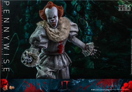 Hot Toys推出《小丑回魂2》潘尼怀斯1:6比例珍藏人偶 模玩 第5张