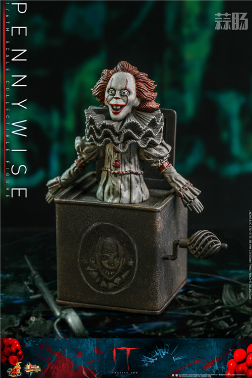 Hot Toys推出《小丑回魂2》潘尼怀斯1:6比例珍藏人偶 模玩 第4张