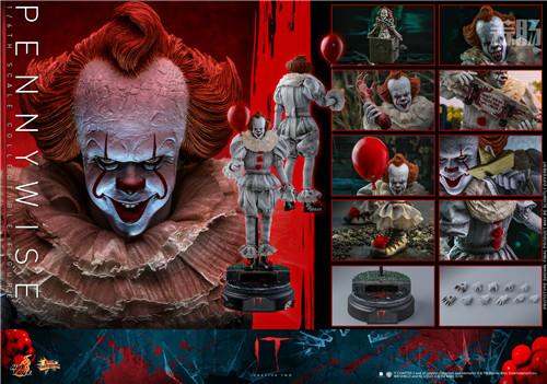 Hot Toys推出《小丑回魂2》潘尼怀斯1:6比例珍藏人偶 模玩 第8张