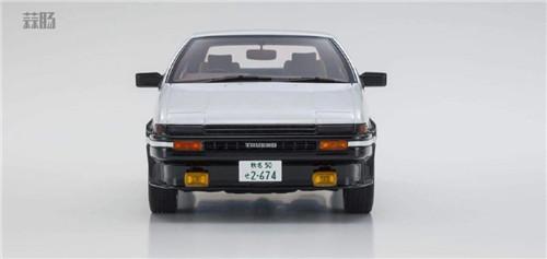 京商推出1/18《头文字D新剧场版》 AE86车模 带主角藤原拓海 汽车模型 第4张