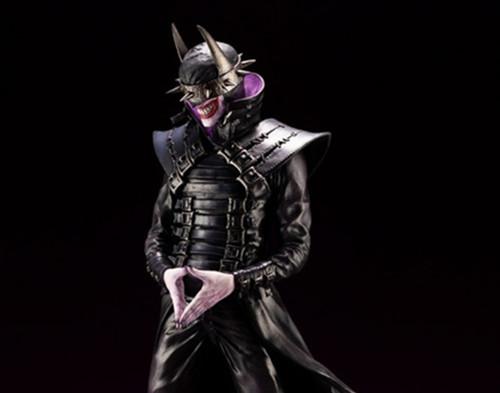 寿屋公布1/6 PVC 蝙蝠侠狂笑之蝠版手办