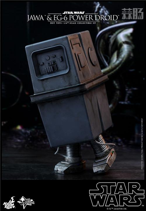 HT推出《星球大战4:新希望》贾瓦人及EG-6 1:6人偶套装 模玩 第4张