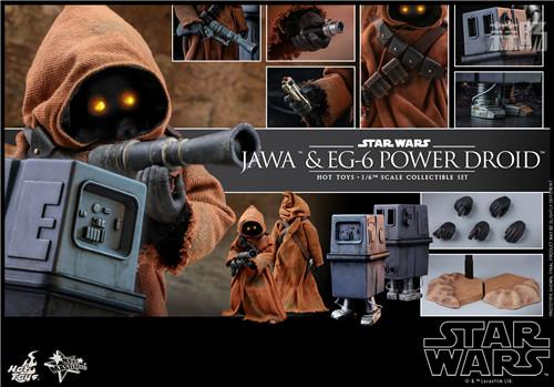 HT推出《星球大战4:新希望》贾瓦人及EG-6 1:6人偶套装 模玩 第9张