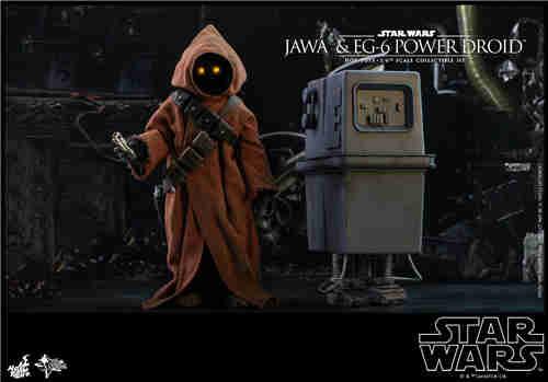 HT推出《星球大战4:新希望》贾瓦人及EG-6 1:6人偶套装