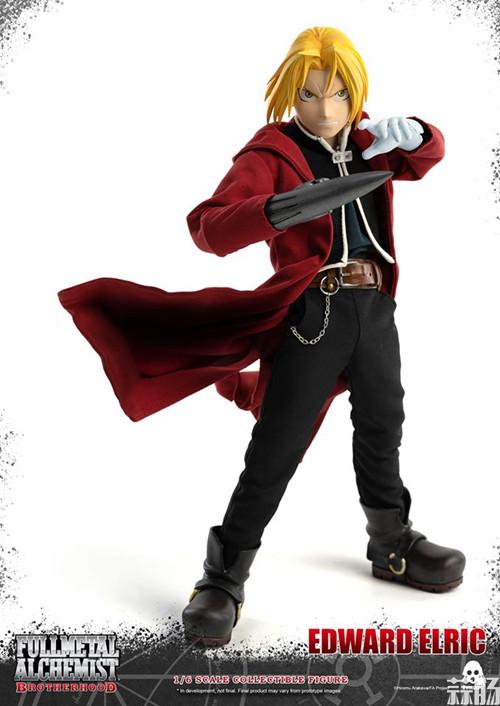 THREEZERO发布《钢之炼金术师》爱德华·艾尔利克与阿尔冯斯·艾尔利克可动人偶 模玩 第2张