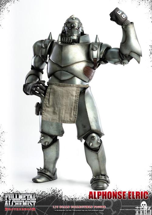 THREEZERO发布《钢之炼金术师》爱德华·艾尔利克与阿尔冯斯·艾尔利克可动人偶 模玩 第9张