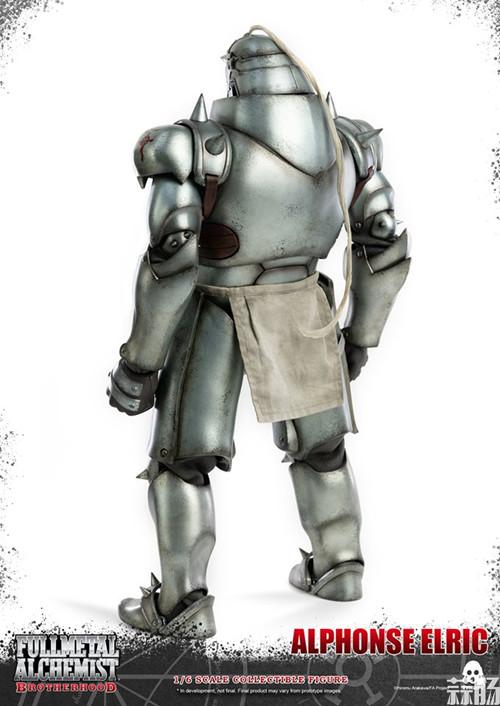 THREEZERO发布《钢之炼金术师》爱德华·艾尔利克与阿尔冯斯·艾尔利克可动人偶 模玩 第5张