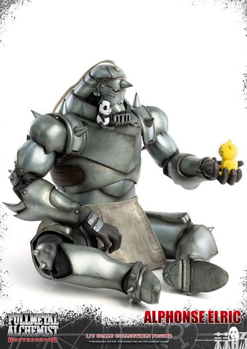 THREEZERO发布《钢之炼金术师》爱德华·艾尔利克与阿尔冯斯·艾尔利克可动人偶 模玩 第8张