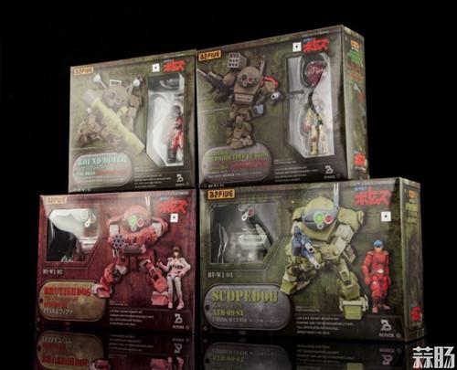 B2FIVE《裝甲骑兵VOTOMS》 ARMORED TROOPER (AT) SCOPEDOG 四款眼镜狗 官图更新  SCOPEDOG Armored Trooper B2FIVE 装甲骑兵 模玩  第2张