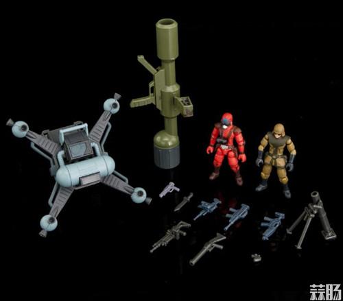 B2FIVE《裝甲骑兵VOTOMS》 ARMORED TROOPER (AT) SCOPEDOG 四款眼镜狗 官图更新  模玩 第4张