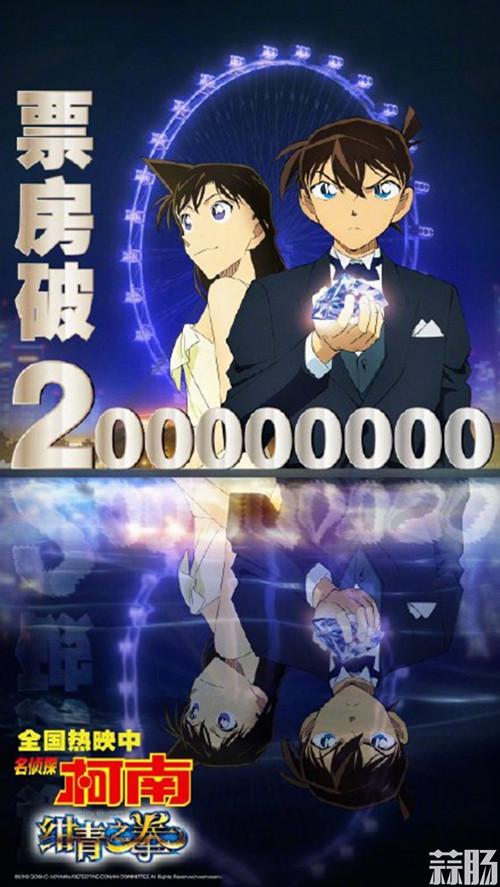 剧场版《名侦探柯南》内地票房达到2.1亿元人民币 动漫 第2张