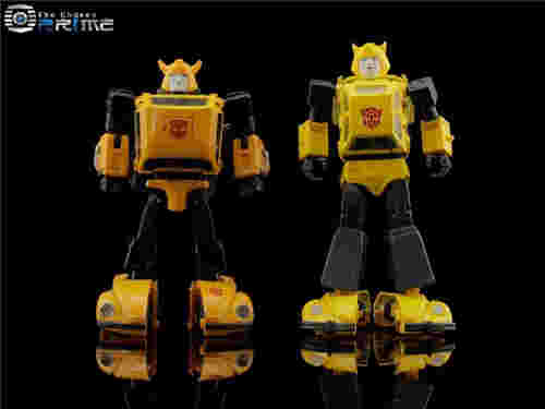 MP-45大黄蜂新玩具实物对比图 比MP-21大一圈