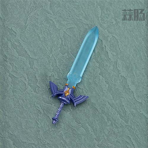 可爱!良笑社公开《旷野之息》版塞尔达黏土人实物图 模玩 第6张