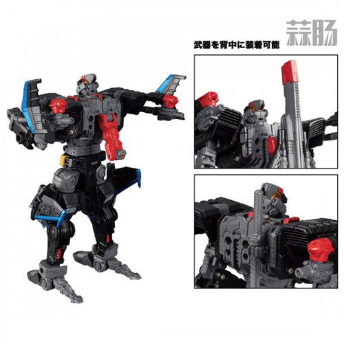 Takara Tomy公开戴亚克隆DA-46官方限定版玩具实物图 模玩 第7张