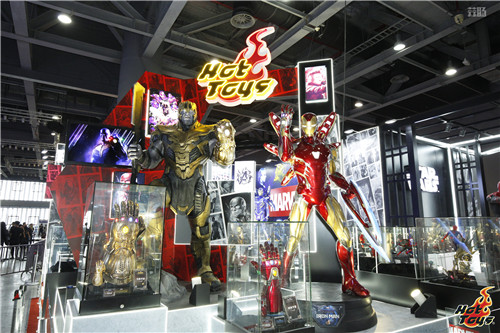 HOT TOYS珍藏人偶大型展览 中国国际漫画节动漫游戏展  漫展 第1张