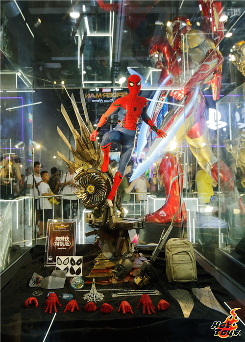 HOT TOYS珍藏人偶大型展览 中国国际漫画节动漫游戏展  漫展 第8张