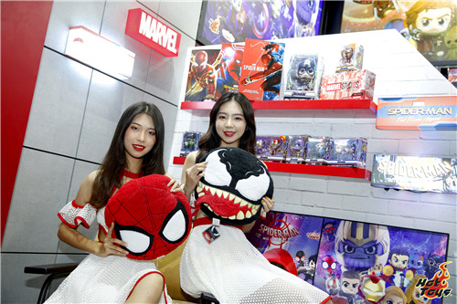 HOT TOYS珍藏人偶大型展览 中国国际漫画节动漫游戏展  漫展 第13张