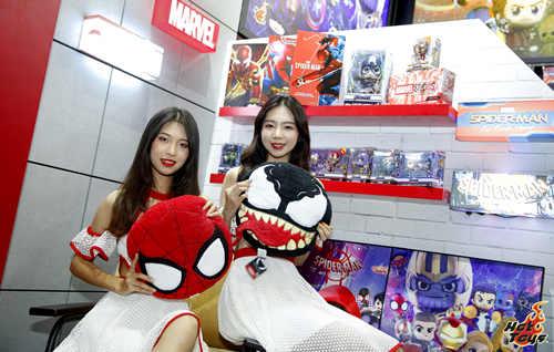 HOT TOYS珍藏人偶大型展览 中国国际漫画节动漫游戏展