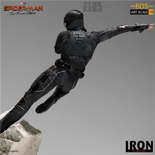 Iron Studio公布《蜘蛛侠:英雄远征》1:10蜘蛛侠雕像 模玩 第3张