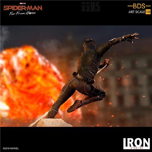 Iron Studio公布《蜘蛛侠:英雄远征》1:10蜘蛛侠雕像 模玩 第5张