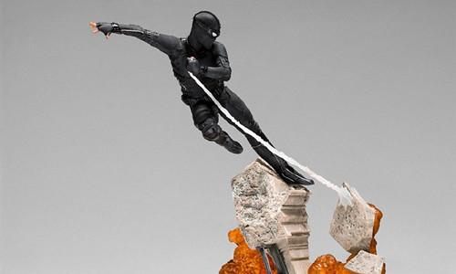 Iron Studio公布《蜘蛛侠:英雄远征》1:10蜘蛛侠雕像