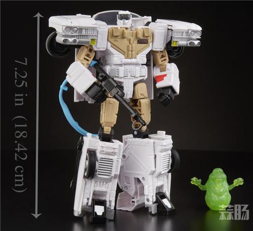 孩之宝Pulse独占变形金刚联动《捉鬼敢死队》款Ecto-1推出大众版 变形金刚 第7张