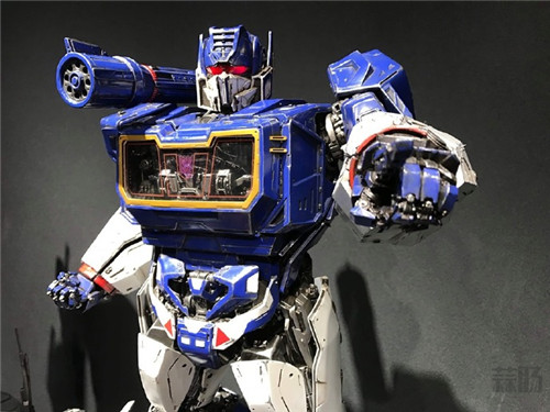 Prime 1 Studio公开《大黄蜂》电影版声波涂装雕像实体图 变形金刚 第3张