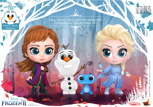 Hot Toys 推出《冰雪奇缘2》与《沉睡魔咒2》COSBABY迷你人偶 模玩 第1张