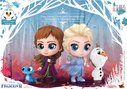 Hot Toys 推出《冰雪奇缘2》与《沉睡魔咒2》COSBABY迷你人偶 模玩 第2张