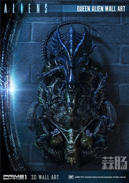 Prime 1 Studio公布异形女王3D墙上摆件 Prime 1 Studio 异形女皇 模玩  第7张