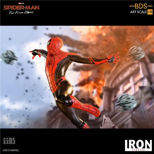 Iron Studio《蜘蛛侠:英雄远征》1:10蜘蛛侠雕像 模玩 第3张