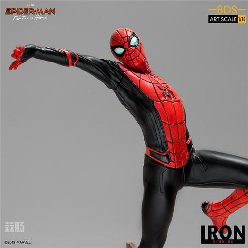 Iron Studio《蜘蛛侠:英雄远征》1:10蜘蛛侠雕像 模玩 第9张