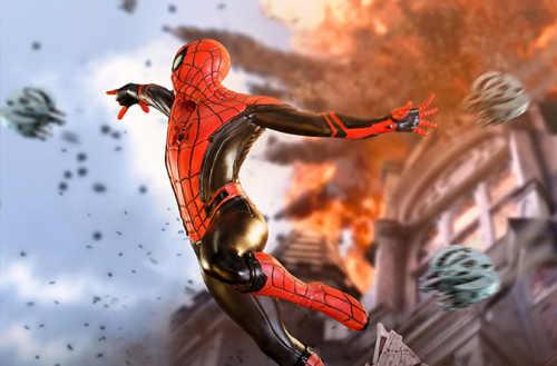 Iron Studio《蜘蛛侠:英雄远征》1:10蜘蛛侠雕像