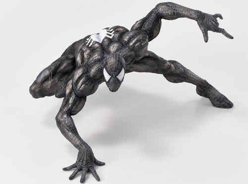 千值练SOFBINA系列再添一员——蜘蛛侠黑色战服