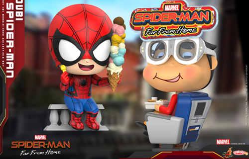 Hot Toys《蜘蛛侠:英雄远征》MOVBI 及蜘蛛侠 COSBABY (S) 迷你珍藏人偶