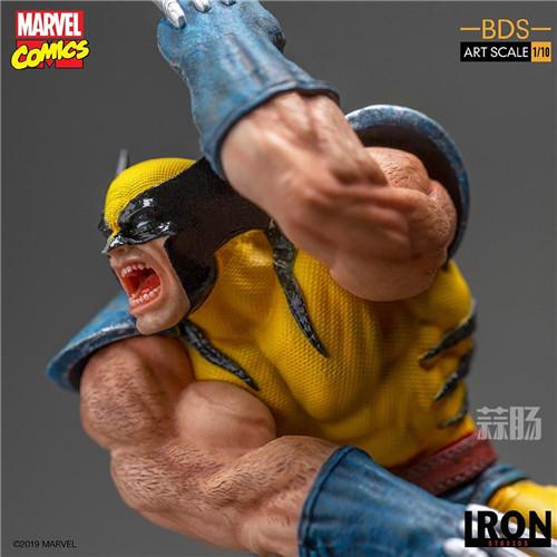 Iron Studios发布《X战警》金刚狼战斗场景雕像 模玩 第7张