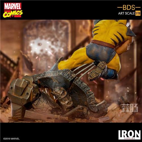 Iron Studios发布《X战警》金刚狼战斗场景雕像 模玩 第2张