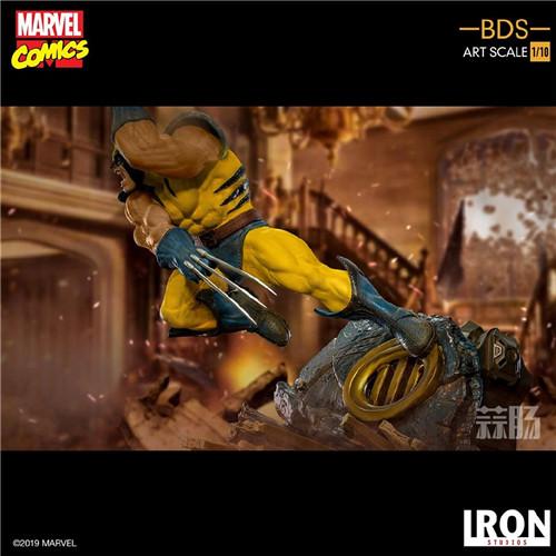 Iron Studios发布《X战警》金刚狼战斗场景雕像 模玩 第3张
