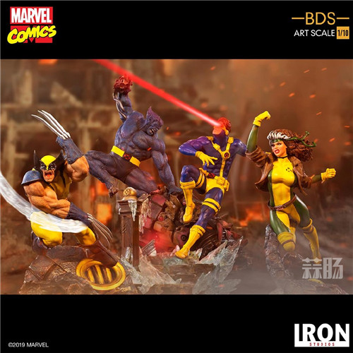 Iron Studios发布《X战警》金刚狼战斗场景雕像 模玩 第6张