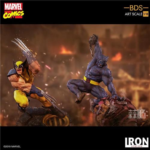 Iron Studios发布《X战警》金刚狼战斗场景雕像 模玩 第5张