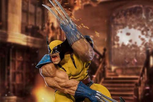 Iron Studios发布《X战警》金刚狼战斗场景雕像