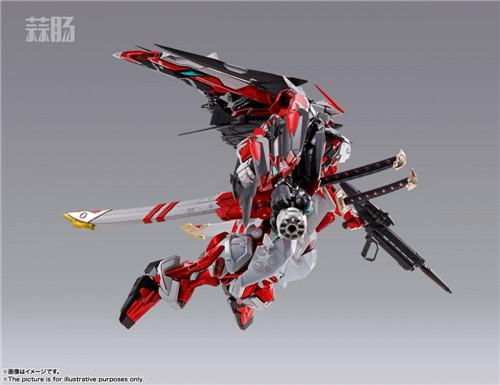 万代公布METAL BUILD 异端高达红色机改 模玩 第7张