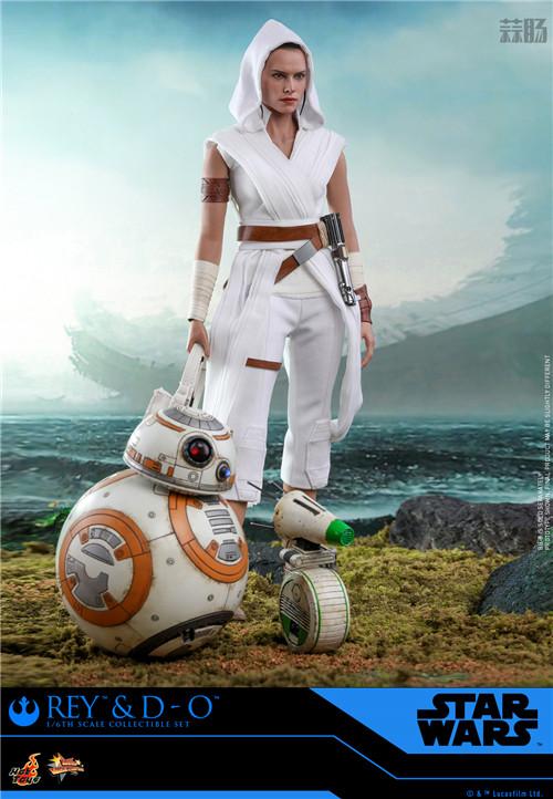 Hot Toys《星球大战:天行者崛起》蕾伊 & D-O 1:6比例珍藏人偶套装 模玩 第4张