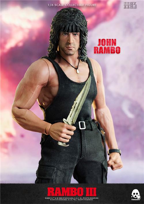 ThreeZero 发布《第一滴血3》1/6 比例约翰·兰博人偶 模玩 第11张