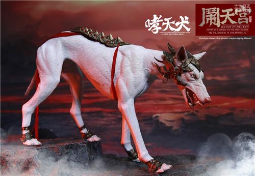 猴厂推出二郎神哮天犬套装 二郎神麾下 草头神 - 墨角&丫骨也公布官图 模玩 第12张